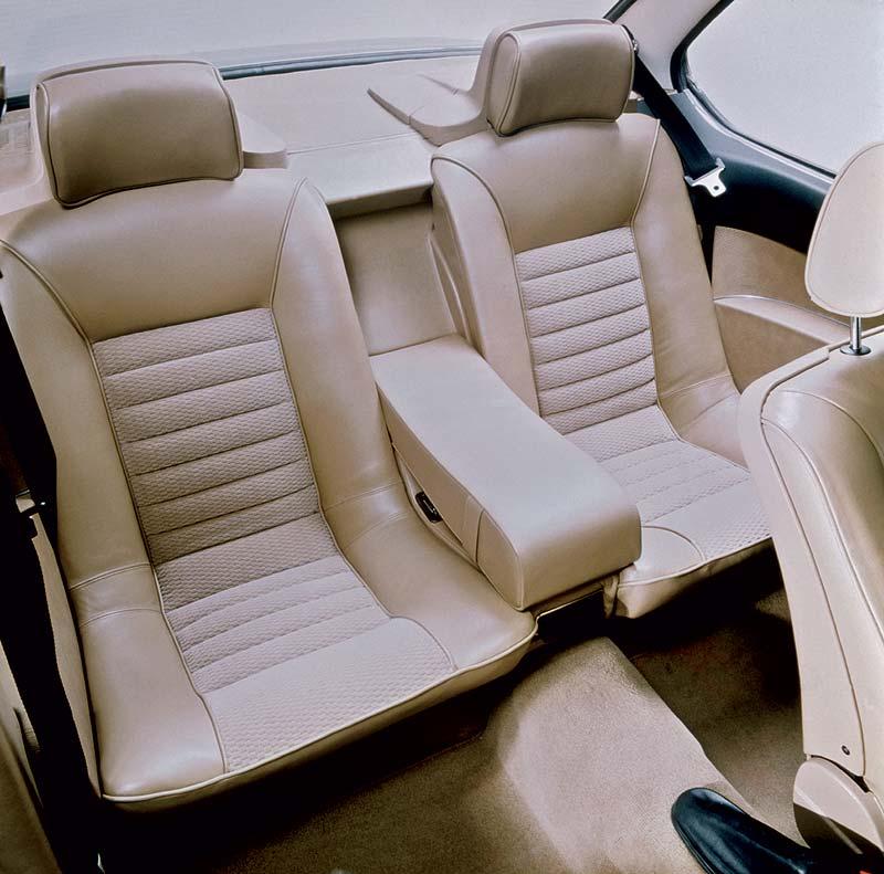Rückbank BMW 6er-Reihe