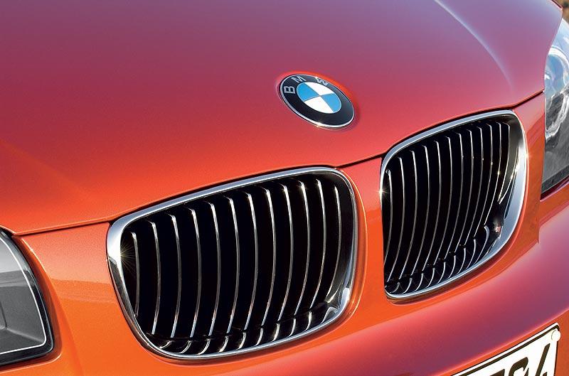 BMW 1er Coupé, Kühlergrill