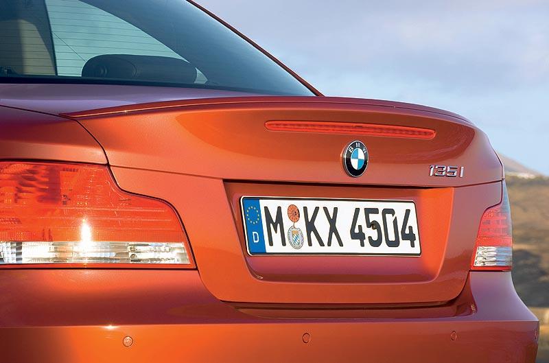 BMW 1er Coupé, Heck