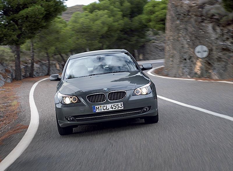 BMW 5er Limousine, Faceliftmodell E60