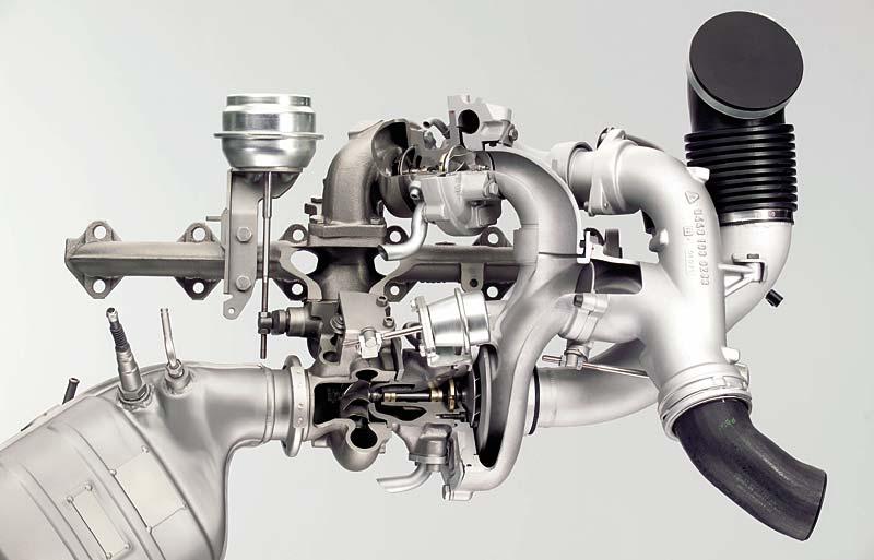 """BMW 6-Zylinder-Dieselmotor mit """"Variable Twin Turbo"""" Technologie"""
