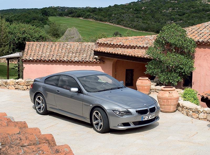 BMW 6er Coupe, Vorgängergeneration E63, Facelift aus dem Jahr 2007.