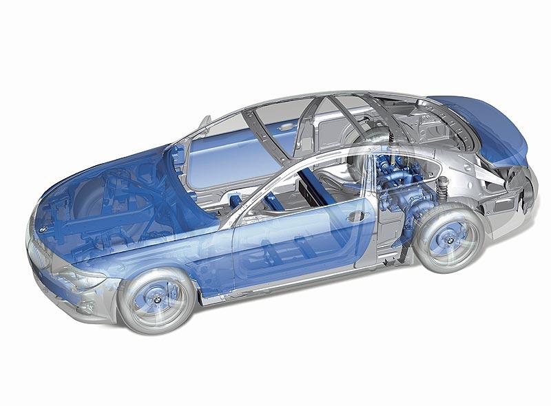 Intelligenter Leichtbau BMW 6er Reihe