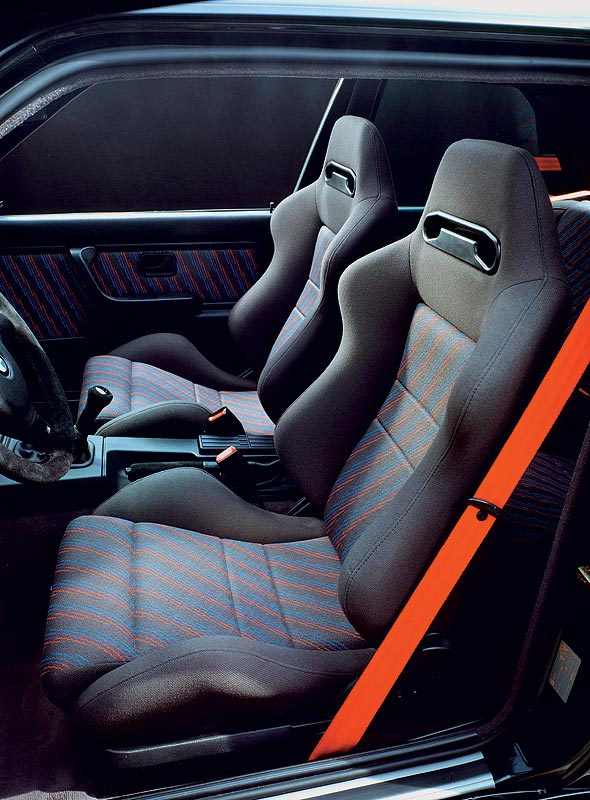 foto bmw m3 modell e30 sport evolution sitze 1991. Black Bedroom Furniture Sets. Home Design Ideas