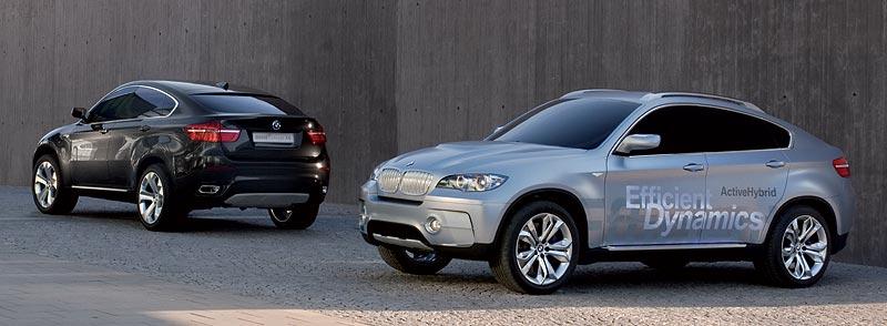 BMW Concept X6 und BMW Concept X6 ActiveHybrid