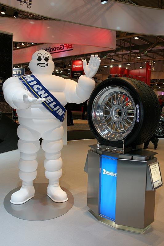 Michelin Werbefigur auf der Essen Motor Show 2007