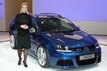Tuning-Queen Katharina Kuhlmann präsentierte den VW Golf RaVe 270