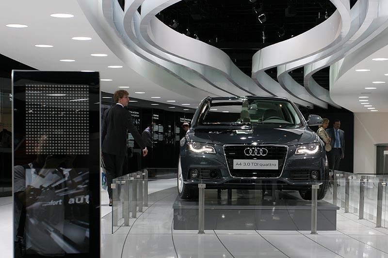 Audi A4 3.0 tdi, IAA 2007