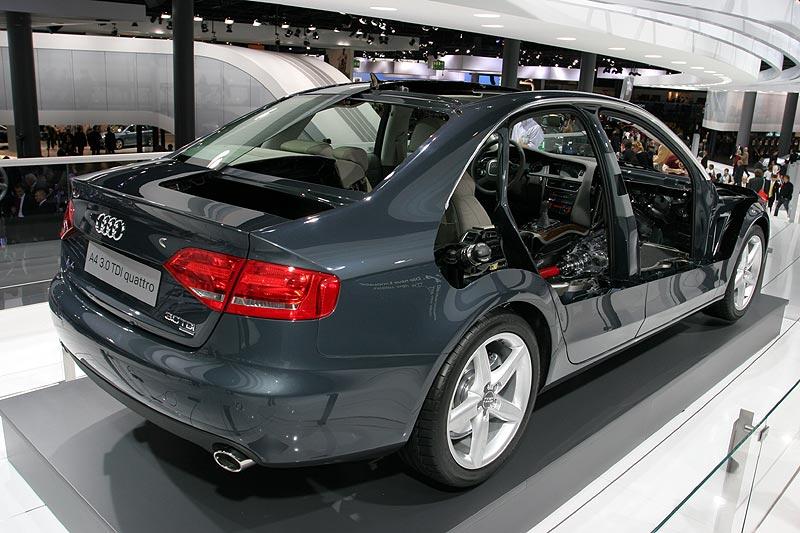 Audi A4, Schnittmodell, IAA 2007
