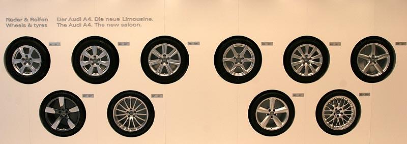 Audi A4 Radauswahl
