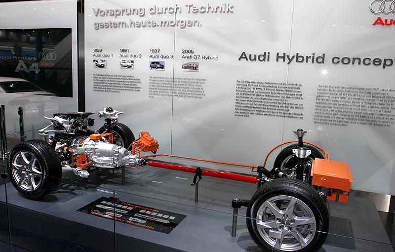 Hybrid-Modell bei Audi