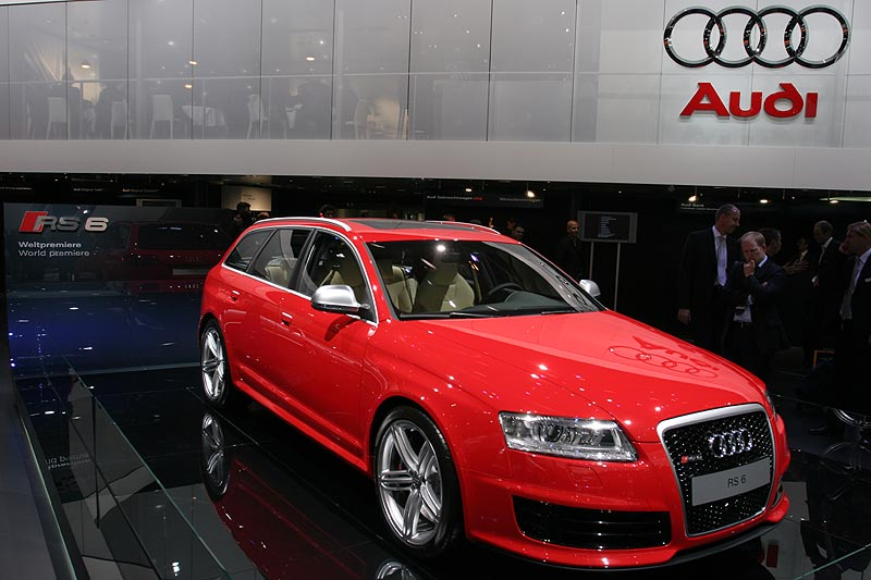 Weltpremiere Audi RS6, IAA 2007