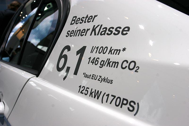 BMW 320i ist laut BMW besser als die Konkurrenz - zumindest was den Verbrauch betrifft