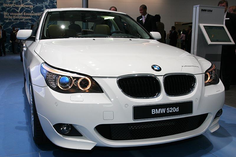 der neue BMW 520d verbraucht dank EfficientDynamics nur 5,1 Liter pro 100 km