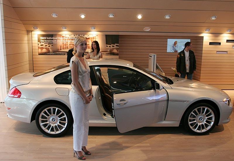 BMW 6er Individual Virtuoso auf der IAA 2007, mit spezieller Sound-Anlage