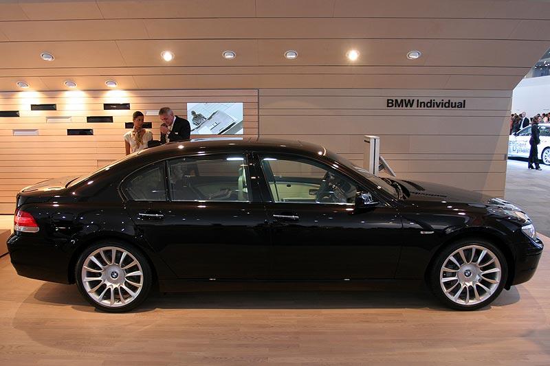 BMW 750Li Individual auf der IAA 2007