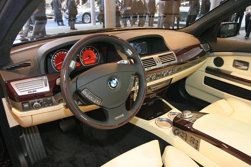 BMW 750Li Individual, Cockpit, IAA 2007