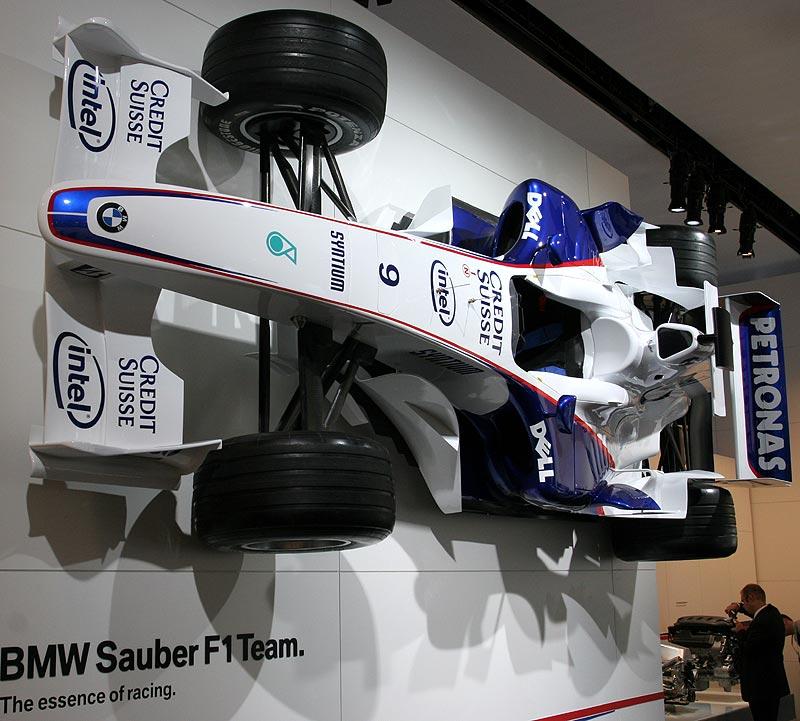 BMW Formel 1 Auto auf der IAA 2007