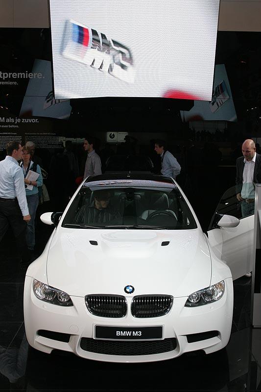 BMW M3 als Weltpremiere auf der IAA 2007 in Frankfurt