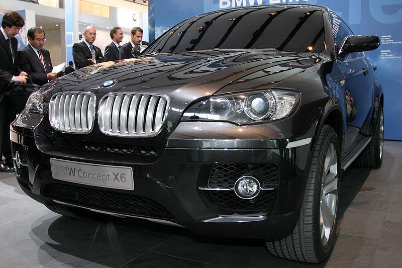 BMW Concept X6 auf der IAA 2007