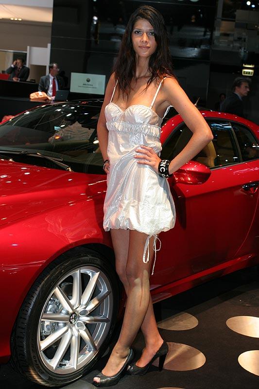 auf dem Stand von Alfa Romeo