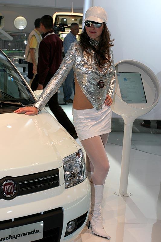 auf dem Stand von Fiat