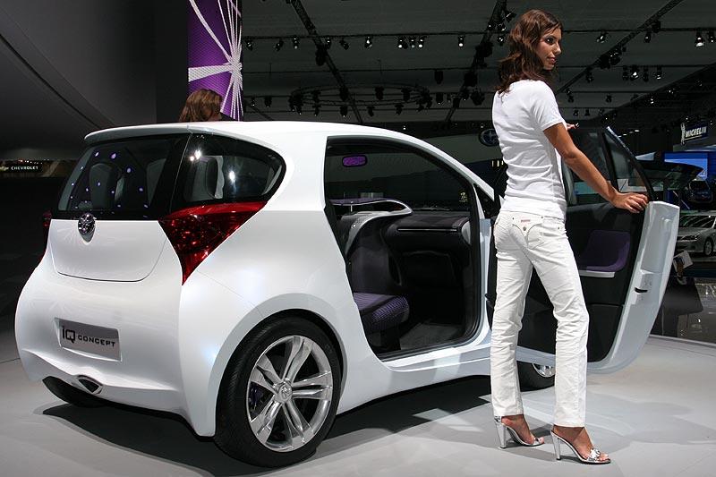 Vorstellung Toyota IQ Konzept