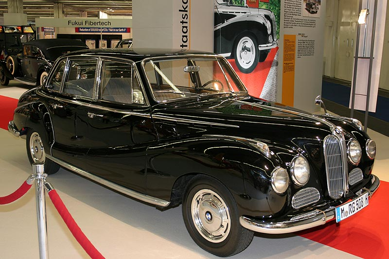 BMW 3200 S, Baujahr 1963, V8-Motor, 3.168 cccm, 160 PS, vmax: 190 km/h, Produktionszahl: 1.323, hier: Einzelanfertigung