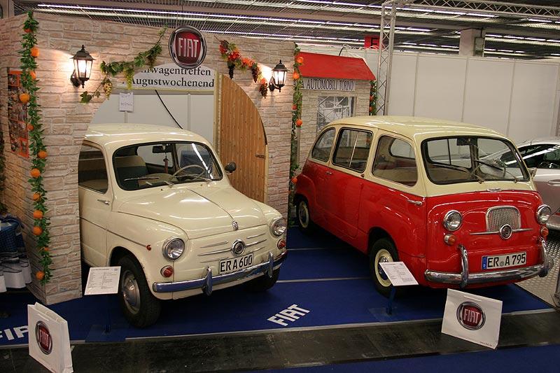 Fiat Club, Messestand ähnlich wie auf der Techno Classica 2007