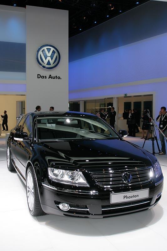VW Phaeton auf der IAA 2007