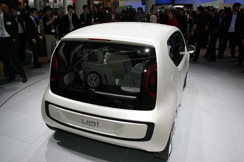 VW Studie up!, mit Start-Stopp-Automatik