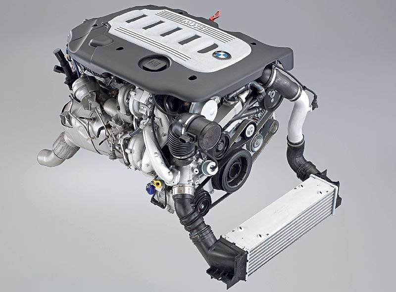6-Zylinder-Dieselmotor mit Variable Twin Turbo Technologie, Piezo-Einspritzung, AluminiumKurbelgehäuse