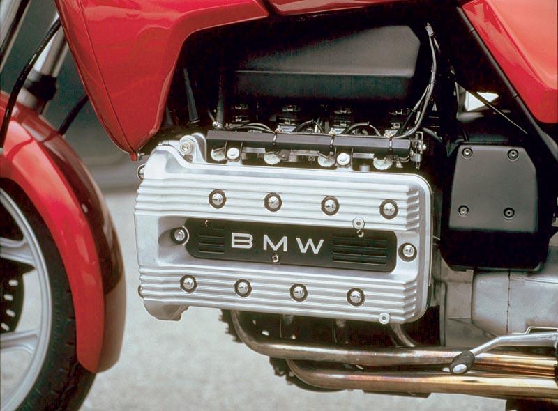 Vierzylinder Reihenmotor in der BMW 100, 1983