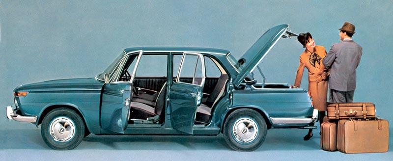 BMW 1500, Abbildung aus Verkaufsprospekt 1963/64