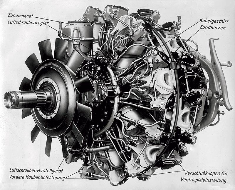 42 Liter Hubraum und 1500 PS: BMW 801, 1940
