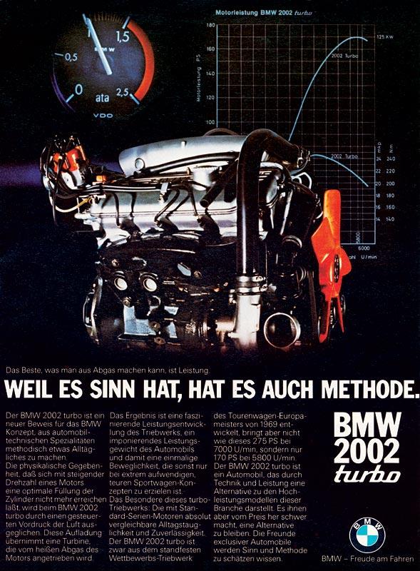 """Werbemotiv """"Weil es Sinn hat, hat es Methode"""", 1973"""