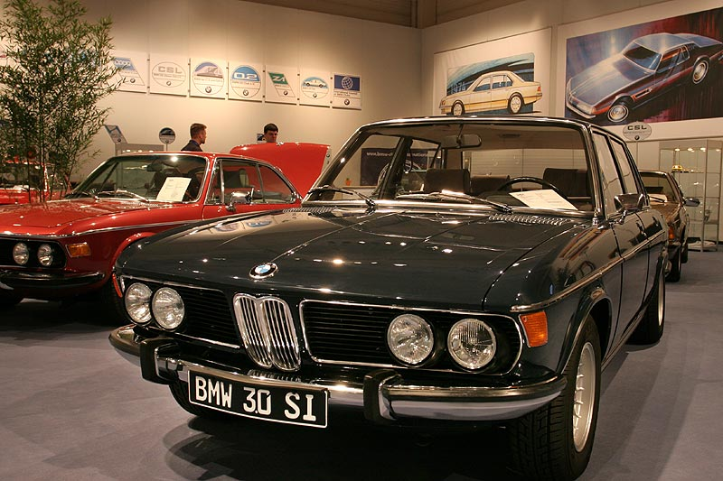 BMW 3.0 si, Bauzeit: 1971-1975, Stückzahl: 18.961, 200 PS bei 5.500 U/Min., 2.966 cccm