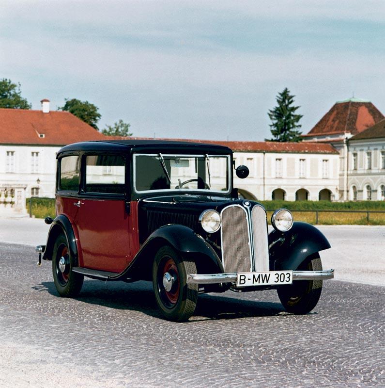 BMW 303 Limousine, erstmals mit BMW Niere, 1933
