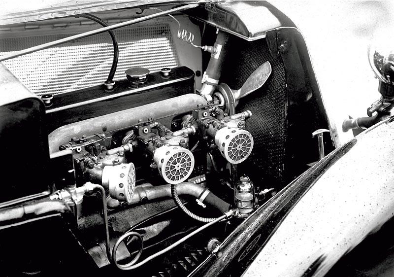 BMW 315/1 Motorraum, 1934