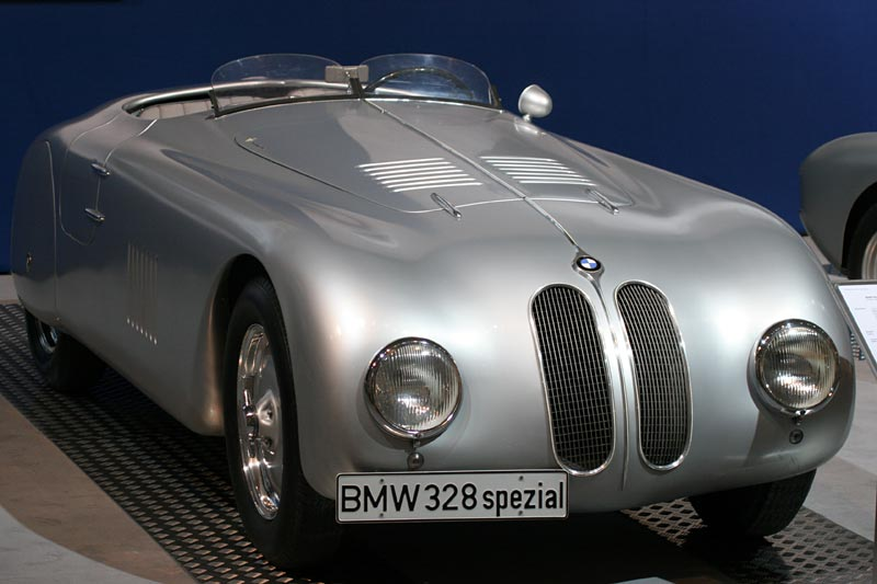 BMW 328, durch Firma Carozzeria Tourinig in Mailand umgebauter BMW 328 Roadster