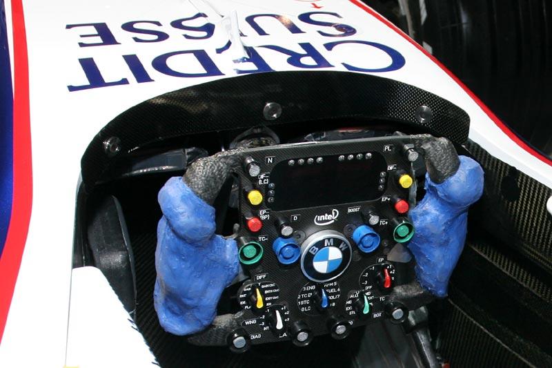 BMW Sauber F1.07, Lenkrad