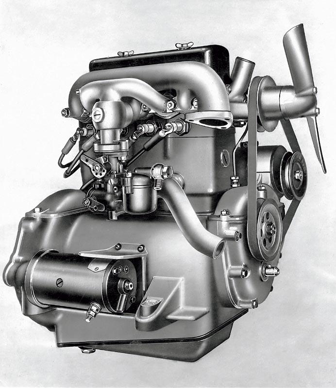 Erster Automobilmotor aus München: BMW 3/20 PS, 1932