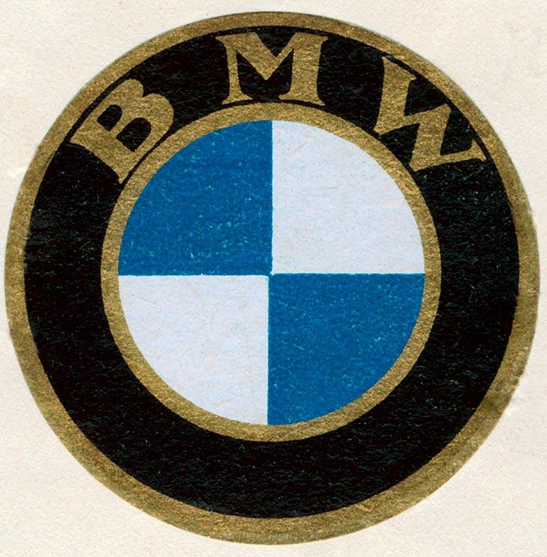 BMW Bildzeichen, 1933