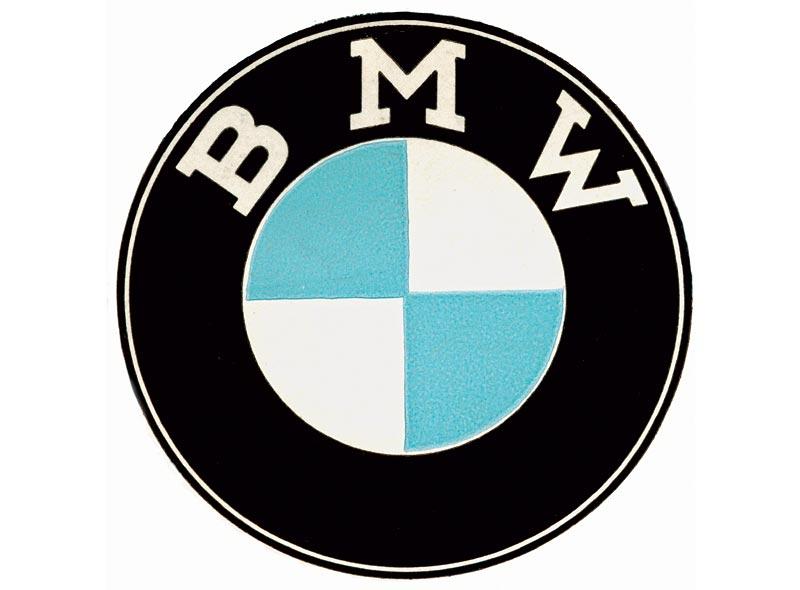 BMW Bildzeichen, 1954