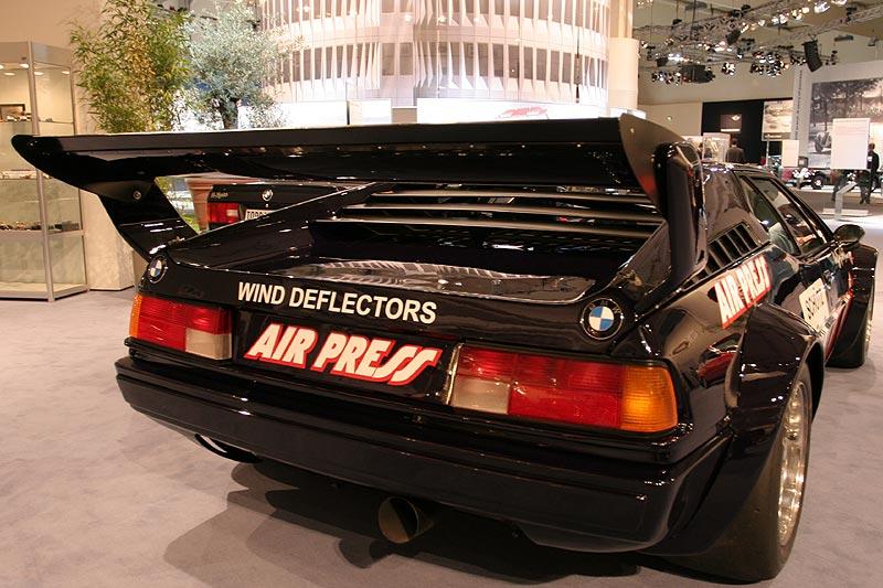BMW M1 Procar, 6-Zyl.-Motor, 900 kg schwer, Besitzer: A. Hagemann Holsen, Neupreis: 150.000 DM