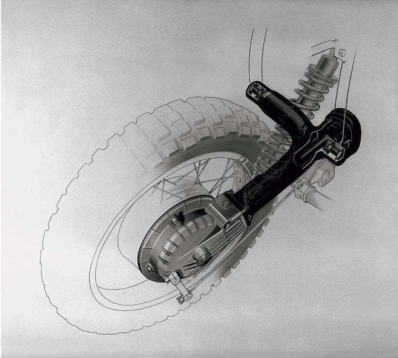 BMW Monolever, Zeichnung, 1983