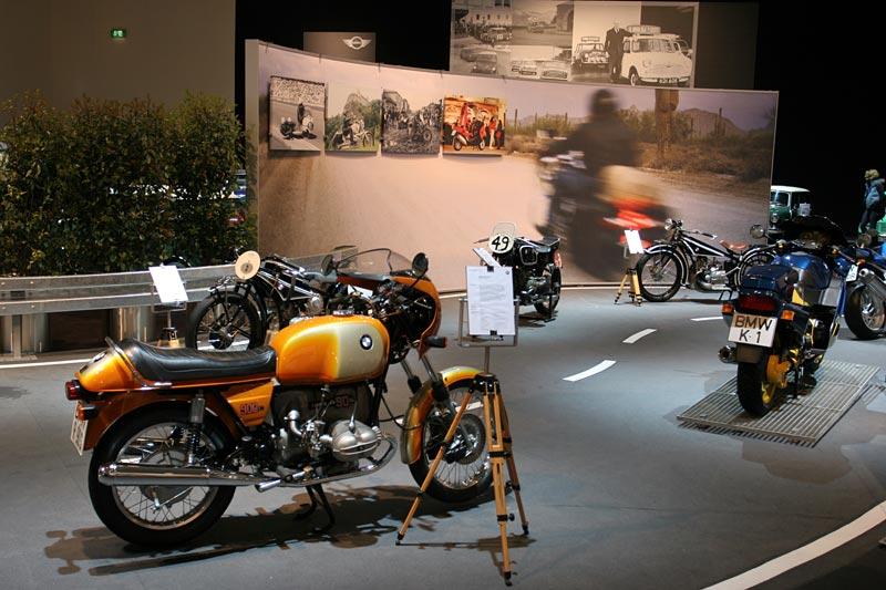 BMW Motorräder auf der Techno Classica 2007 in Essen