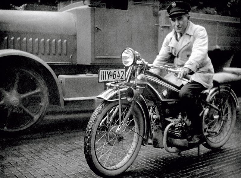 Die BMW R32, das erste BMW Motorrad - 1923