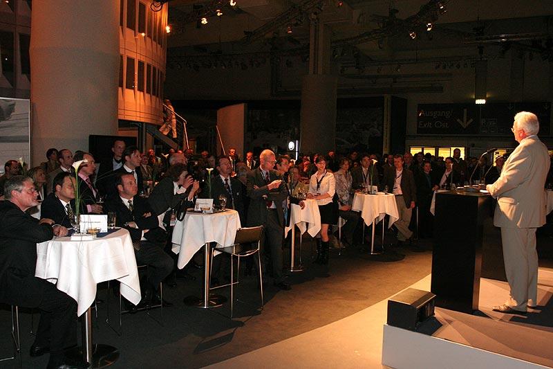 Holger Lapp sprach als Noch-Leiter der Mobilen Tradition zu den VIP-Gästen