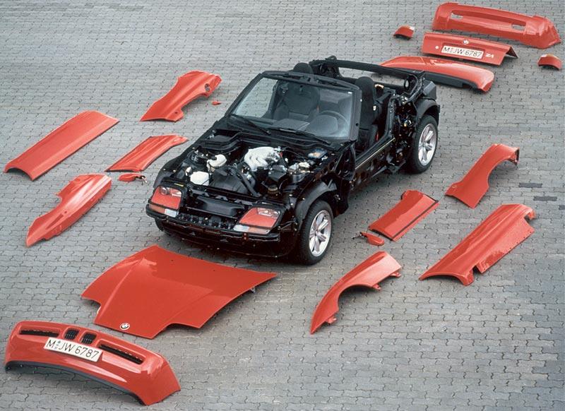 BMW Z1 in Kunststoffhaut, 1990